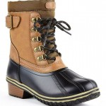 Charming brown  boots women Collection , Beautiful Sporto Duck Boots For Women Collection In Shoes Category