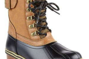 Shoes , Beautiful Sporto Duck Boots For Women Collection : Charming brown  boots women Collection
