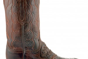 Shoes , Gorgeous Croc Boots Product Ideas : Charming brown  croc snow boots Collection