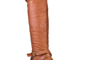 Shoes , Fabulous  Flat Boots For WomenProduct Ideas : Charming brown  leather boots for women