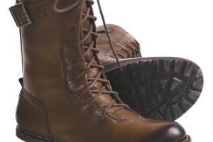 Shoes , Fabulous Women\s Lace Up Boots Product Lineup : Charming brown  leather lace up boots