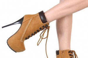 Shoes , Wonderful  Timberland Style Heels Collection : Charming brown timberland boots style
