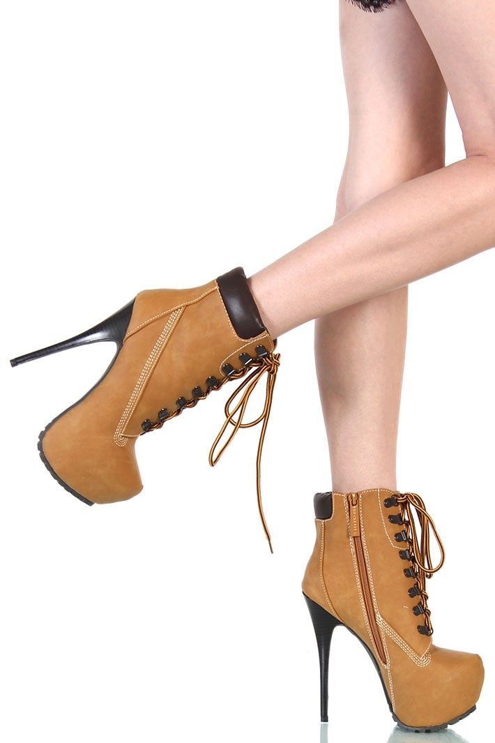 Wonderful  Timberland Style Heels Collection in Shoes