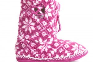 Shoes , Gorgeous Womens Slipper Boots Picture Gallery : Charming pink  womens slippers Photo Collection