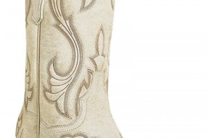 Shoes , Beautiful  Cowgirl Boots White Collection : Charming white cowgirl boots Collection