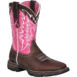 Durango Pink Ribbon Western Boots , Unique  Pink Cowgirl Boots product Image In Shoes Category