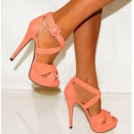 Excellent  peach high heels Product Ideas , Gorgeous High Heels Pink Peach Product Ideas In Shoes Category