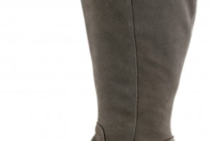 Shoes , Gorgeous Boots For Big Calves Photo Gallery : Fabulous  Grey boots for wide calves Image Gallery