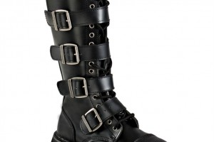 Shoes , Lovely Gothic Combat Boots Product Ideas :  Fabulous black cute combat boots  Collection