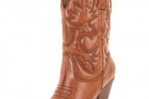 Shoes , Wonderful Cheap Cowgirl Boots Under Collection : Fabulous brown  cowgirl boots Product Lineup