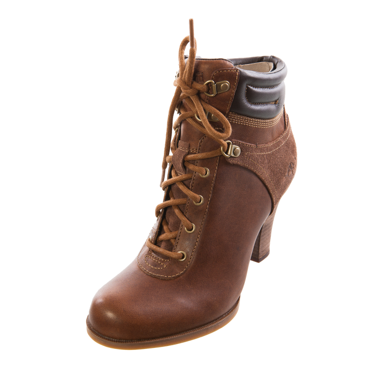 high heels timberland style boots