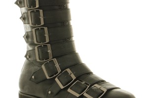 Shoes , Popular Goth Boots Product Lineup : Fabulous  grey mens goth boots