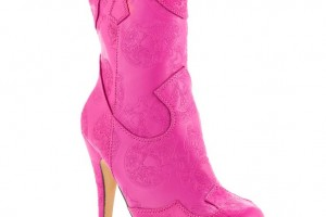 736x736px Gorgeous Pink Cowboy Boots Picture Collection Picture in Shoes