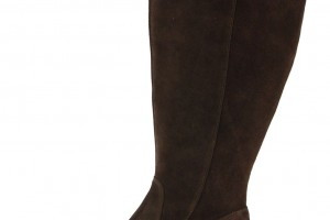 Shoes , Gorgeous Boots For Big Calves Photo Gallery : Gorgeous Brown  high boots for big calves