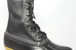 Shoes , Gorgeous Ll Bean Boots For WomenProduct Picture :  Gorgeous black  duck boots women