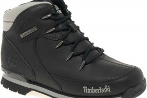 Shoes , Charming Timberland Footwear Collection :  Gorgeous black timberland boot company