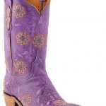 Gorgeous Boys Cowboy Boots , Charming Purple Cowboy Boots Product Image In Shoes Category