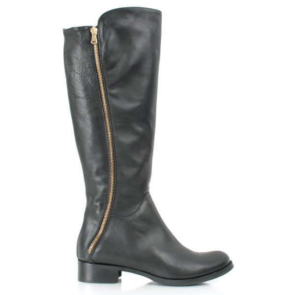 Shoes , Fabulous  Flat Boots For WomenProduct Ideas : Gorgeous  Flat Black Boots Collection