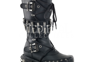 Shoes , Lovely Gothic Combat Boots Product Ideas : Gothic Bullet Platform Combat Boots
