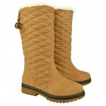 Jody Faux Fur Lined Quilted Boots , 12  Wonderful  Fur Lined Boots Product Lineup In Shoes Category