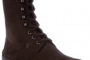 Shoes , Gorgeous Tods Boots Product Picture : Laceup Boots in Brown for Men Product Picture