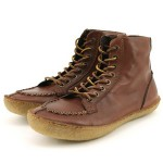 Lovely Brown Mens Moccasin Boots , Charming  Mens Moccasin Boots product Image In Shoes Category