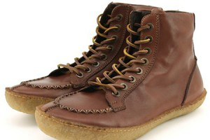 Shoes , Charming  Mens Moccasin Boots product Image : Lovely Brown Mens Moccasin Boots