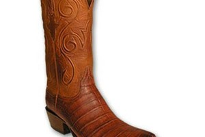 Shoes , Gorgeous Croc Boots Product Ideas : Mens Cognac Burnished Ultra Croc Boots