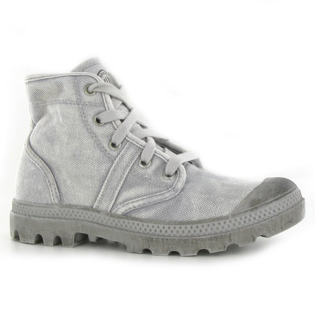 Shoes , Gorgeous Palladium Boots WomenPhoto Collection : Palladium Pallabrouse Grey Womens Boots