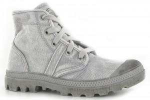 Shoes , Gorgeous Palladium Boots Women Photo Collection : Palladium Pallabrouse Grey Womens Boots