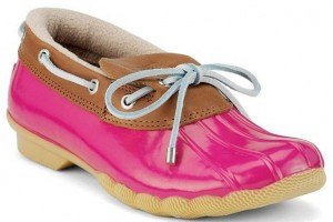 Shoes , Stunning Sperry Duck Boots Image Gallery : Pink Sperry Duck Boots Photo Gallery