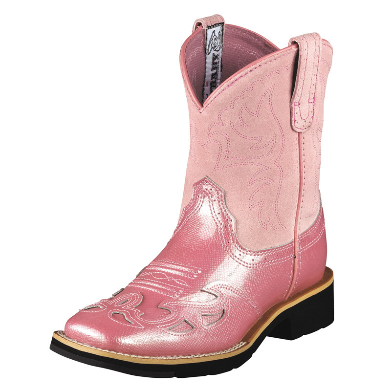 Unique  Pink Cowgirl Bootsproduct Image in Shoes