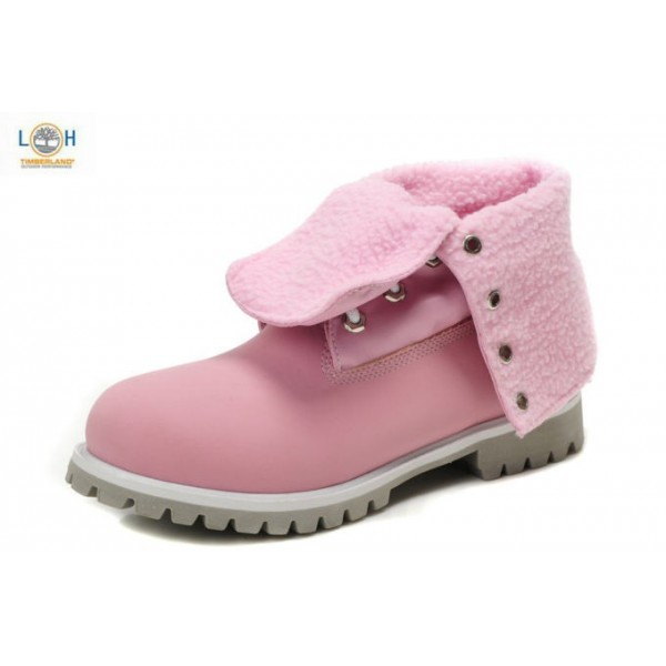 Shoes , Gorgeous Women Timberland Boots product Image : Pink  Timberland Boots On Sale