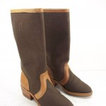 Popular  Brown water proof boots  , Stunning Womens Snake Proof Boots product Image In Shoes Category