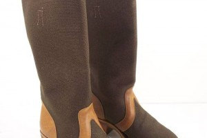 Shoes , Stunning Womens Snake Proof Boots product Image : Popular  Brown water proof boots