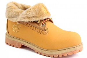Shoes , Fabulous Womens Timberland  Product Ideas :  Popular Yellow Timberland Roll-Top Boots Womens