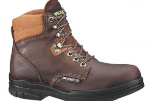 Shoes , 14  Stunning Womens Steel Toe Boots Product Ideas :  Pretty Brown steel toe boot