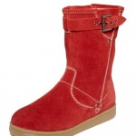 Pretty Red kids timberland boots , Charming Macy\s Boots product Image In Shoes Category