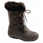 Pretty black best snow boots for women , Beautiful Snow Boots For Women  Product Image In Shoes Category
