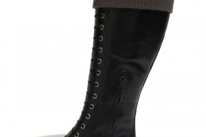 Shoes , Stunning Cole Haan Nike Air Black Leather BootsCollection : Pretty black cole haan and nike air Product Ideas