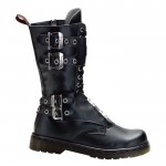Pretty  black combat boots for sale , Lovely Gothic Combat Boots Product Ideas In Shoes Category