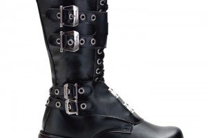 Shoes , Lovely Gothic Combat Boots Product Ideas : Pretty  black combat boots for sale