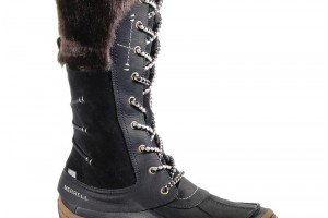 Shoes , Beautiful Top Rated Snow Boots For Women  Product Image : Pretty black  womens snow boots
