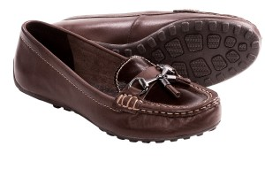 Shoes , Awesome Moccasins For Women product Image : Pretty brown  driving moccasins product Image