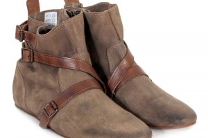 Shoes , Fabulous  Flat Boots For Women Product Ideas : Pretty brown flat boots Product Lineup