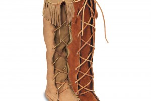 Shoes , Wonderful Moccasin Boots Product Ideas : Pretty brown moccasin boots for men