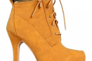 Shoes , Wonderful  Timberland Style Heels Collection : Pretty brown  timberland heels boots