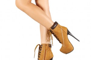 Shoes , Gorgeous Timberland High Heels product Image : Pretty brown  timberland high heel Collection