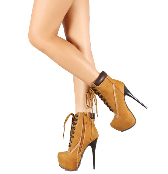 pretty brown timberland high heel collection gorgeous. Black Bedroom Furniture Sets. Home Design Ideas