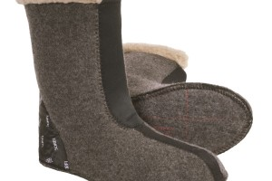 Shoes , Charming Boot Liners  Collection : Pretty grey insulated boot liners Collection